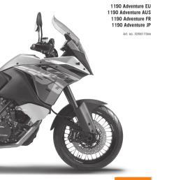 ktm part manual [ 1058 x 1497 Pixel ]