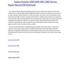 subaru forester wiring diagram pdf [ 1156 x 1496 Pixel ]
