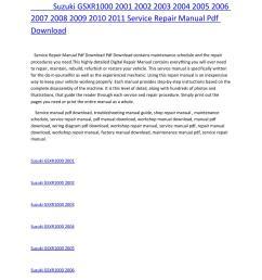 suzuki gsxr1000 2001 2002 2003 2004 2005 2006 2007 2008 2009 2010 2011 service repair manual pdf dow by amurgului issuu [ 1156 x 1496 Pixel ]