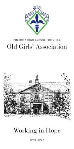 PHSG Old Girls' Association Newsletter June 2014 by
