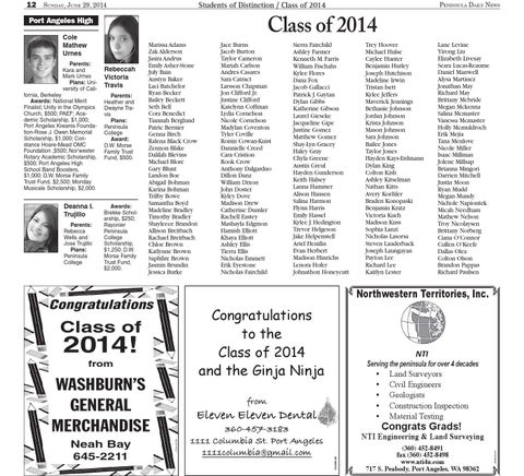 Graduation 2014 by Peninsula Daily News & Sequim Gazette