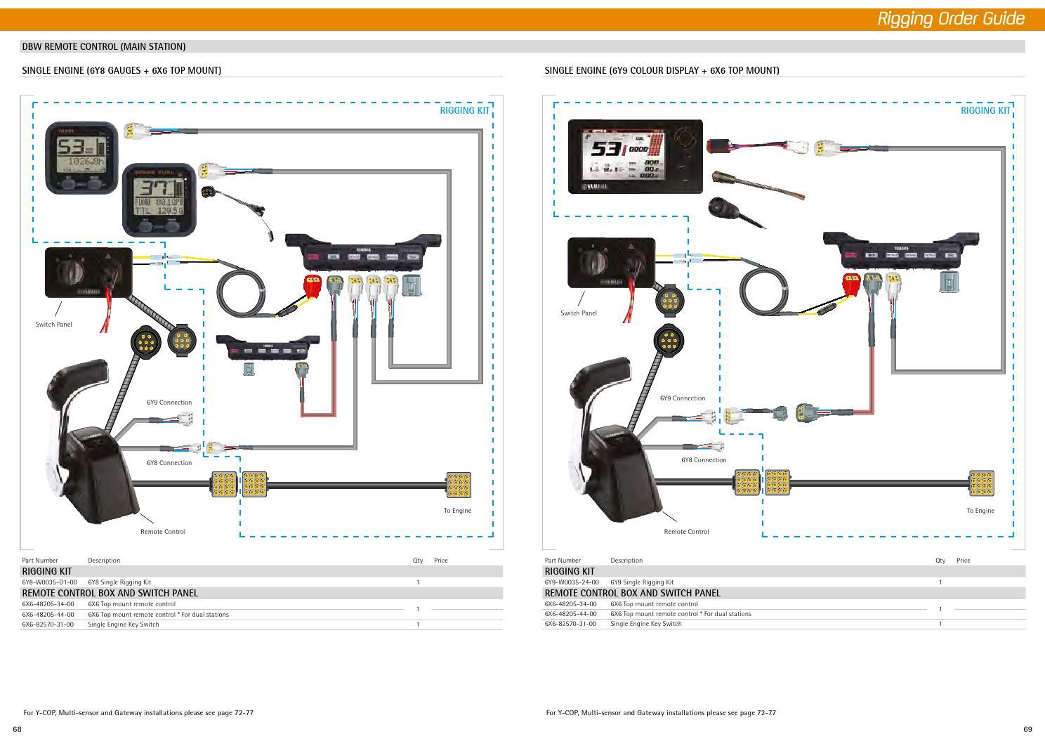 hight resolution of yamaha 6y8 wiring diagram