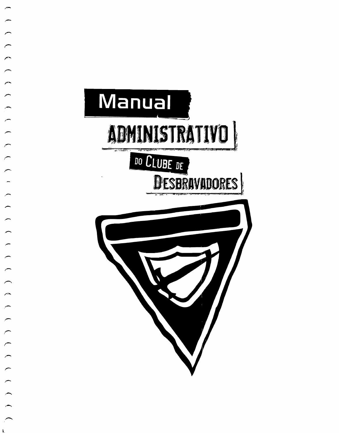Novo manual administrativo de desbravadores dsa 2014 by