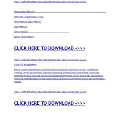 isuzu d max colorado 2007 2008 2009 2010 2011 2012 service repair manual [ 1156 x 1496 Pixel ]