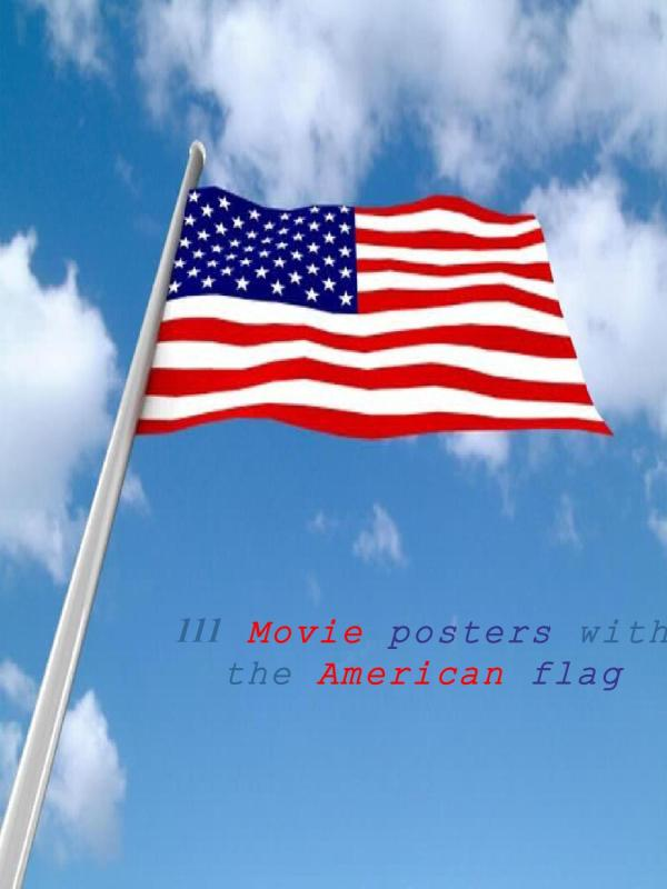 Movie Posters With American Flag