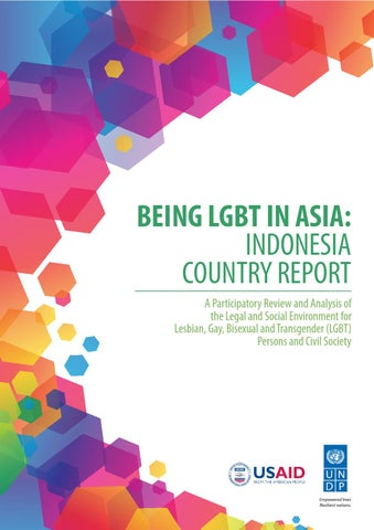 Being LGBT in Asia: Indonesia Country Report by UNDP in Asia and ...