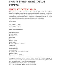 bobcat t190 compact track loader service repair manual instant download0 [ 1058 x 1497 Pixel ]