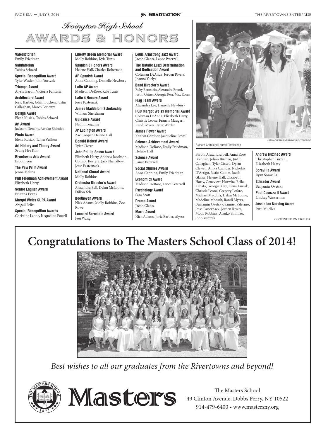Rivertowns Enterprise Graduation 2014 by The Rivertowns
