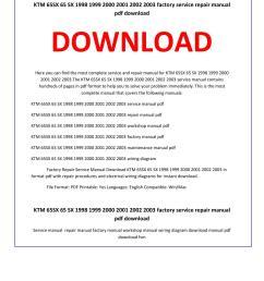 ktm 65sx 65 sx 1998 1999 2000 2001 2002 2003 service repair manual by service manual issuu [ 1156 x 1496 Pixel ]