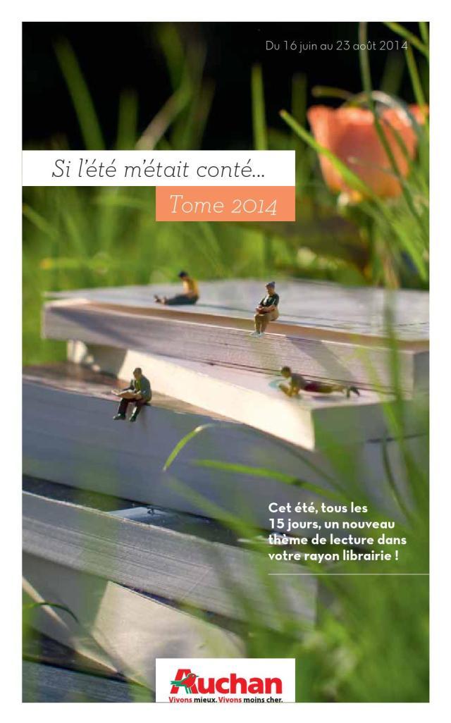 Catalogue Auchan - Culture été 27 by joe monroe - issuu