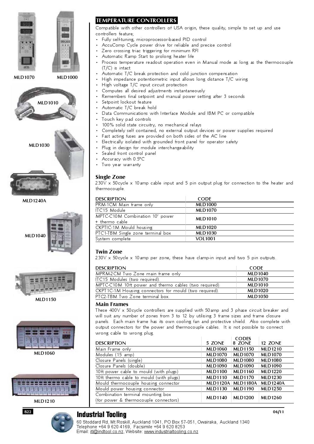 Industrial tooling stock catalogue 08 14 by Industrial