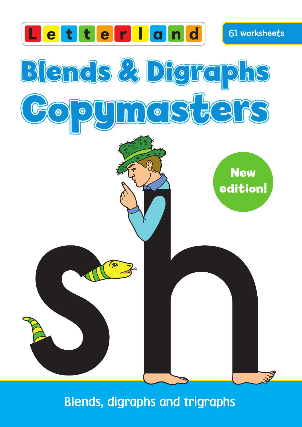 hight resolution of Blends and Digraphs Copymasters by Letterland - issuu