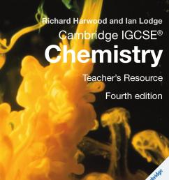 Cambridge IGCSE Chemistry Teacher's Resource (fourth edition) by Cambridge  University Press Education - issuu [ 1499 x 1060 Pixel ]