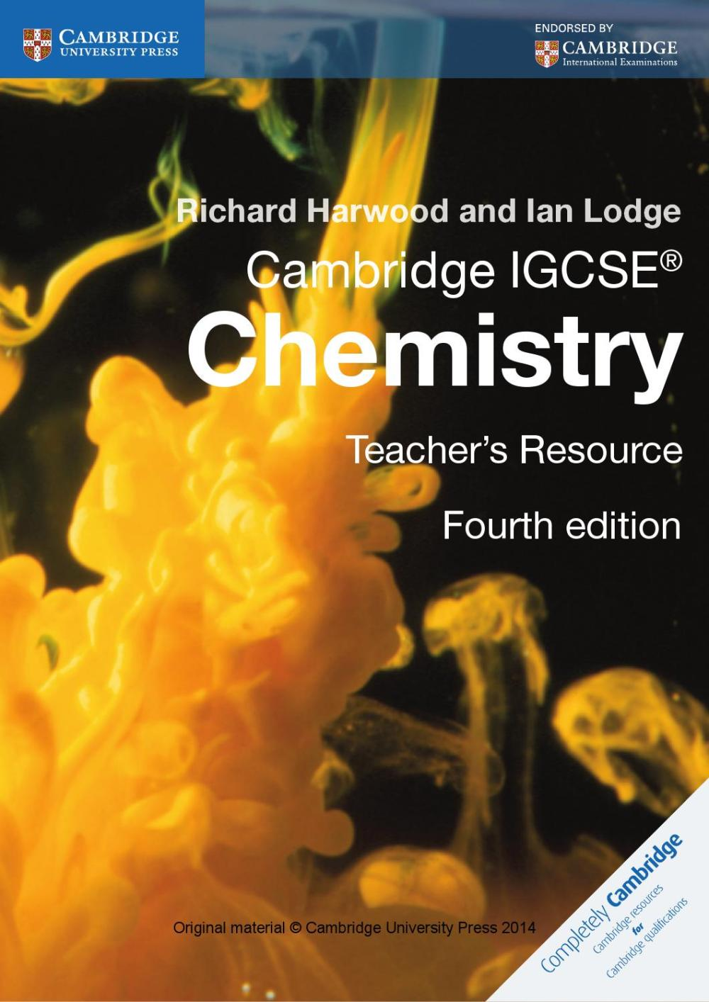 medium resolution of Cambridge IGCSE Chemistry Teacher's Resource (fourth edition) by Cambridge  University Press Education - issuu
