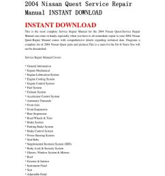 2004 nissan quest service repair manual instant download by jdfhnsenn issuu [ 1058 x 1497 Pixel ]