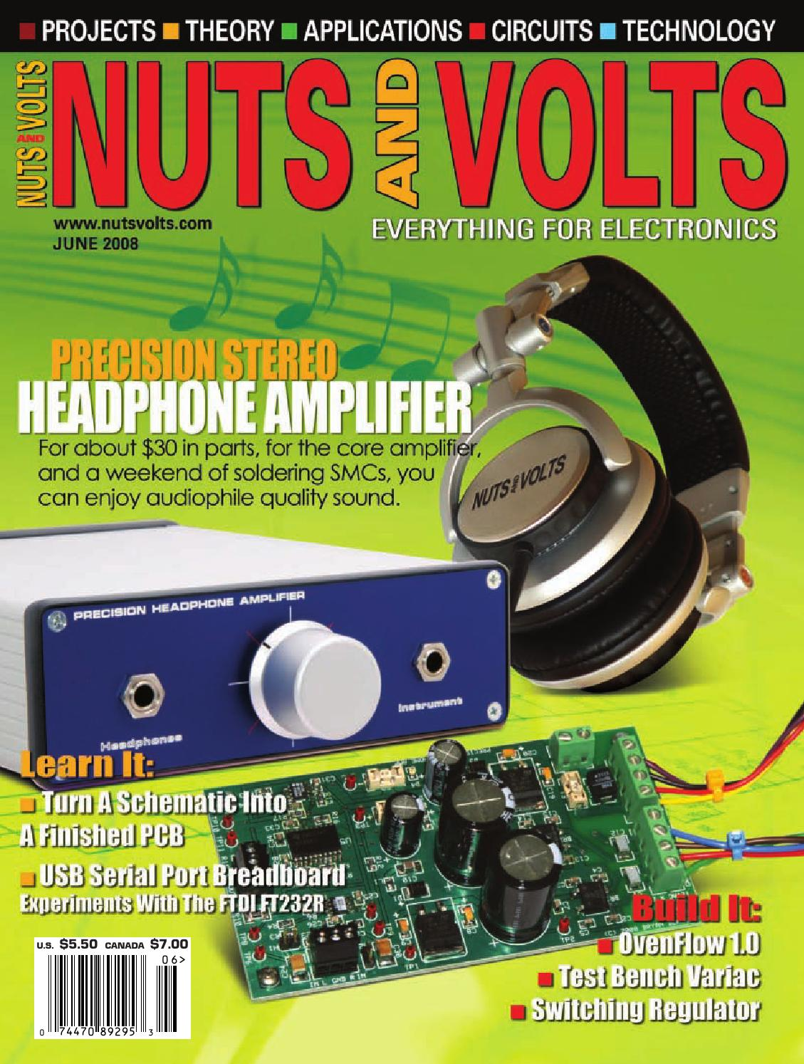hight resolution of nuts volts