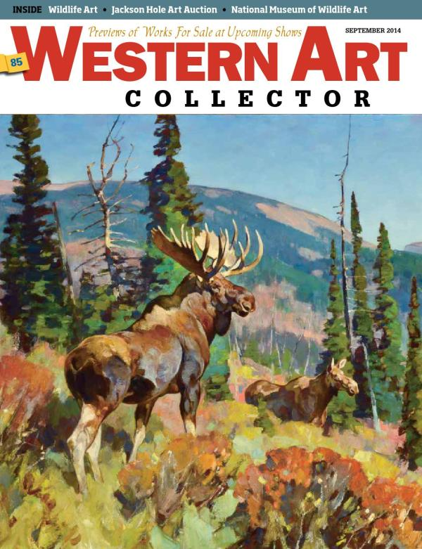 Logan Maxwell Hagege Western Art Collector September