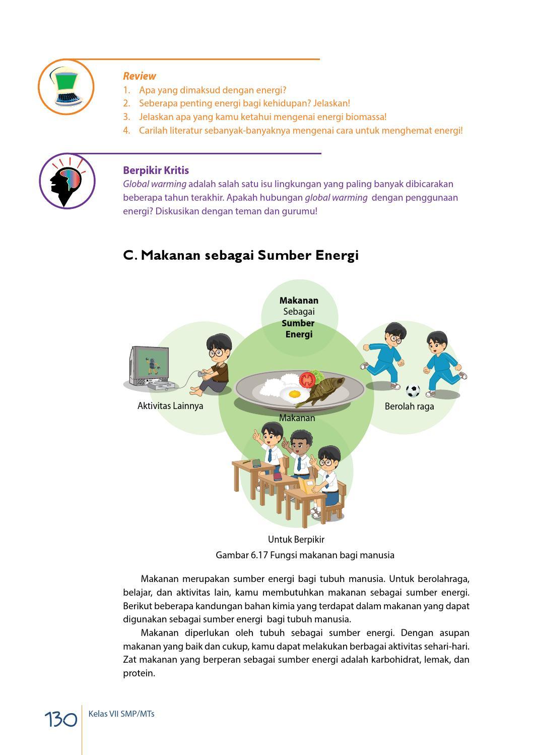 Seberapa Penting Energi Bagi Kehidupan Jelaskan : seberapa, penting, energi, kehidupan, jelaskan, Kelas, Siswa, Mandalahurip, Issuu