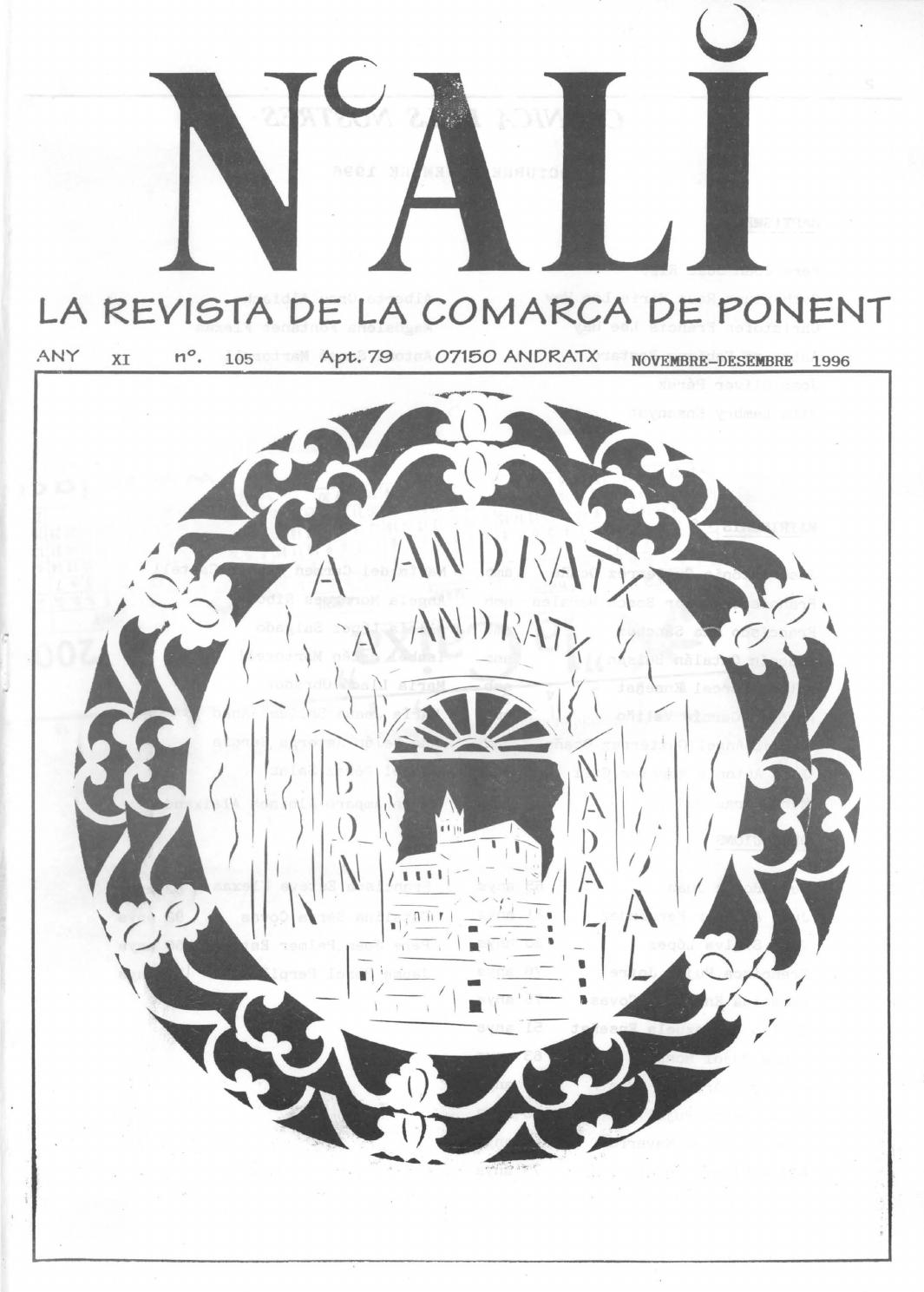 N'Alí novembre-desembre 1996 (105) by Biblioteca Municipal