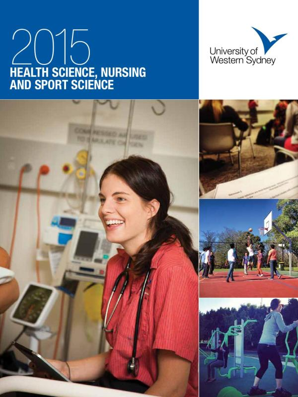 Uws Health Sciences Nursing And Sport Science Study Guide