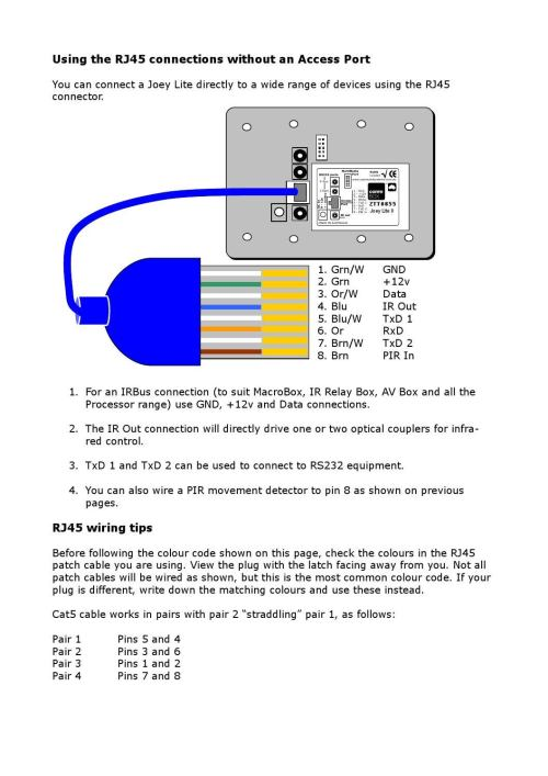 small resolution of using a joey lite or micro without an access port by commbox pty ltd issuu