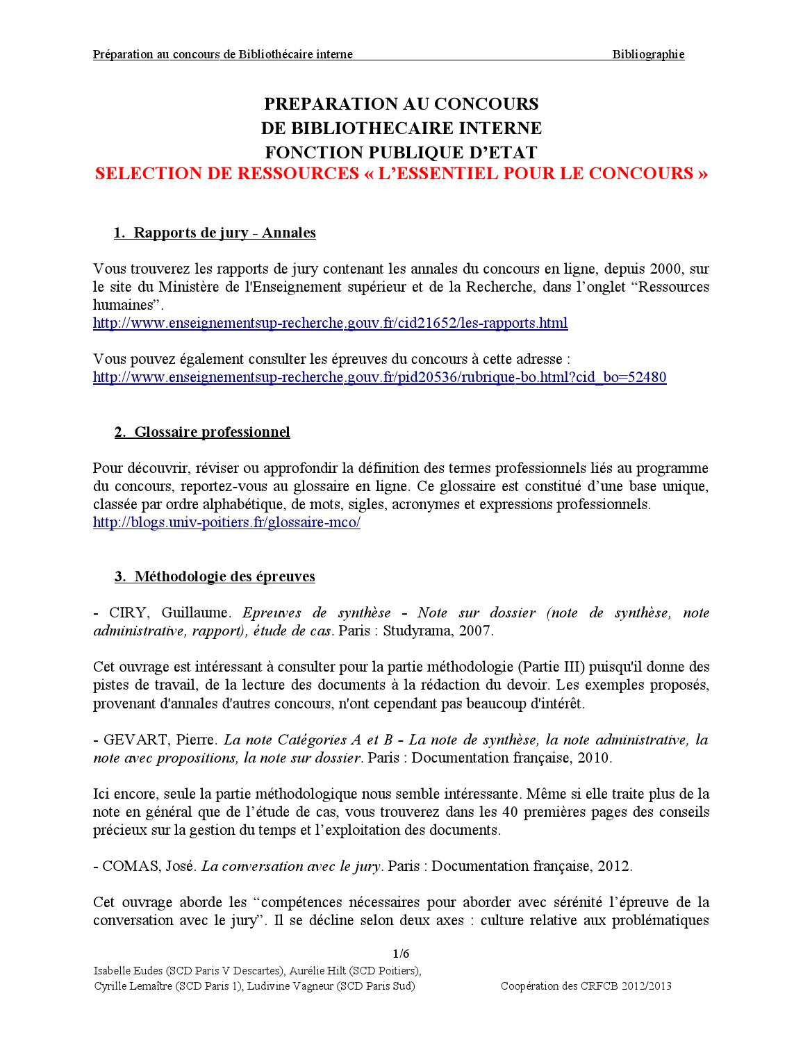 Exemple Note Administrative Avec Propositions : exemple, administrative, propositions, Bibinterne, Bibliographie, Olivier, Reivilo, Issuu