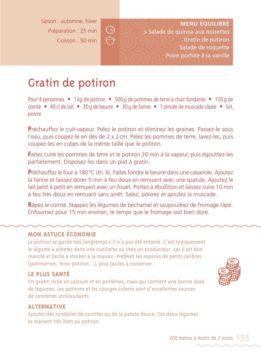 200 Menus équilibrés à 2 Euros : menus, équilibrés, euros, Menus, Equilibres, Bernard, Carrascosa, Issuu