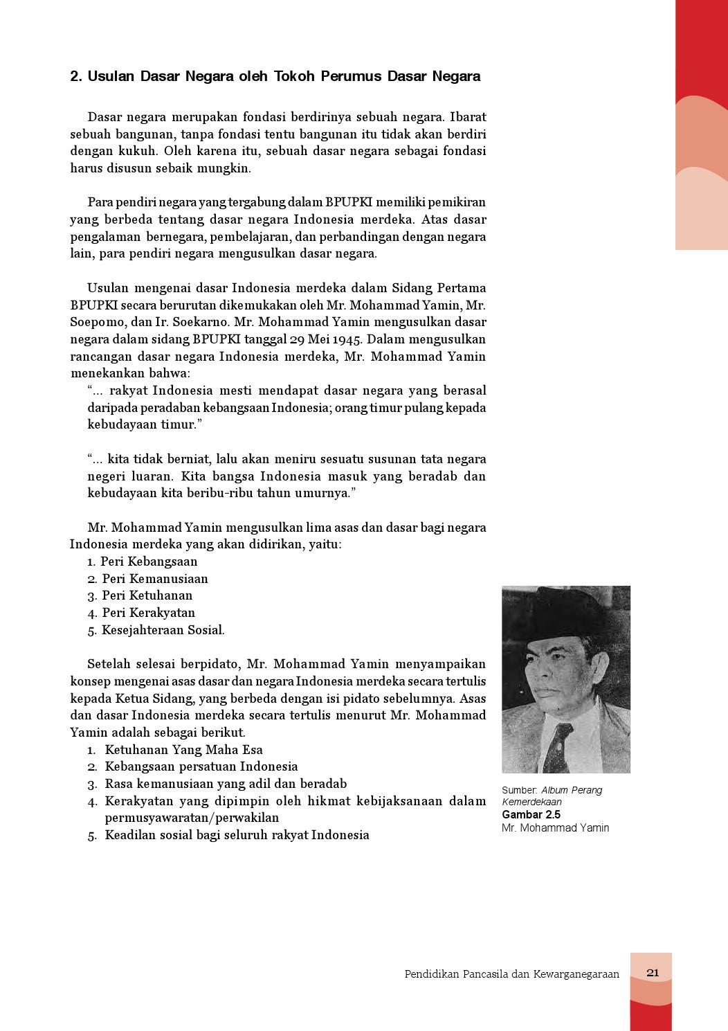 Usulan Dasar Negara Menurut Ir Soekarno : usulan, dasar, negara, menurut, soekarno, Kelas, Siswa, Madrasah, Tsanawiyah, Mandalahurip, Issuu