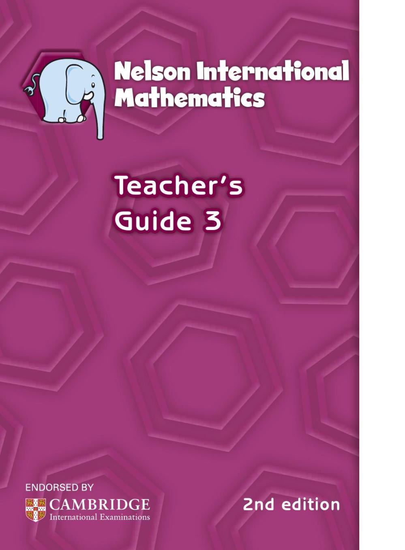 medium resolution of Nelson international maths teacher guide 3 by hany mufeid - issuu