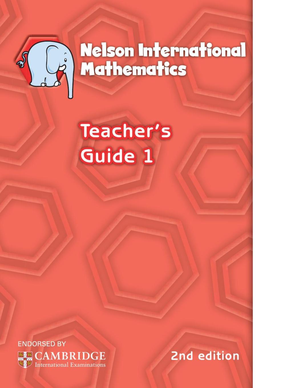 medium resolution of Nelson international maths teacher guide 1 by hany mufeid - issuu