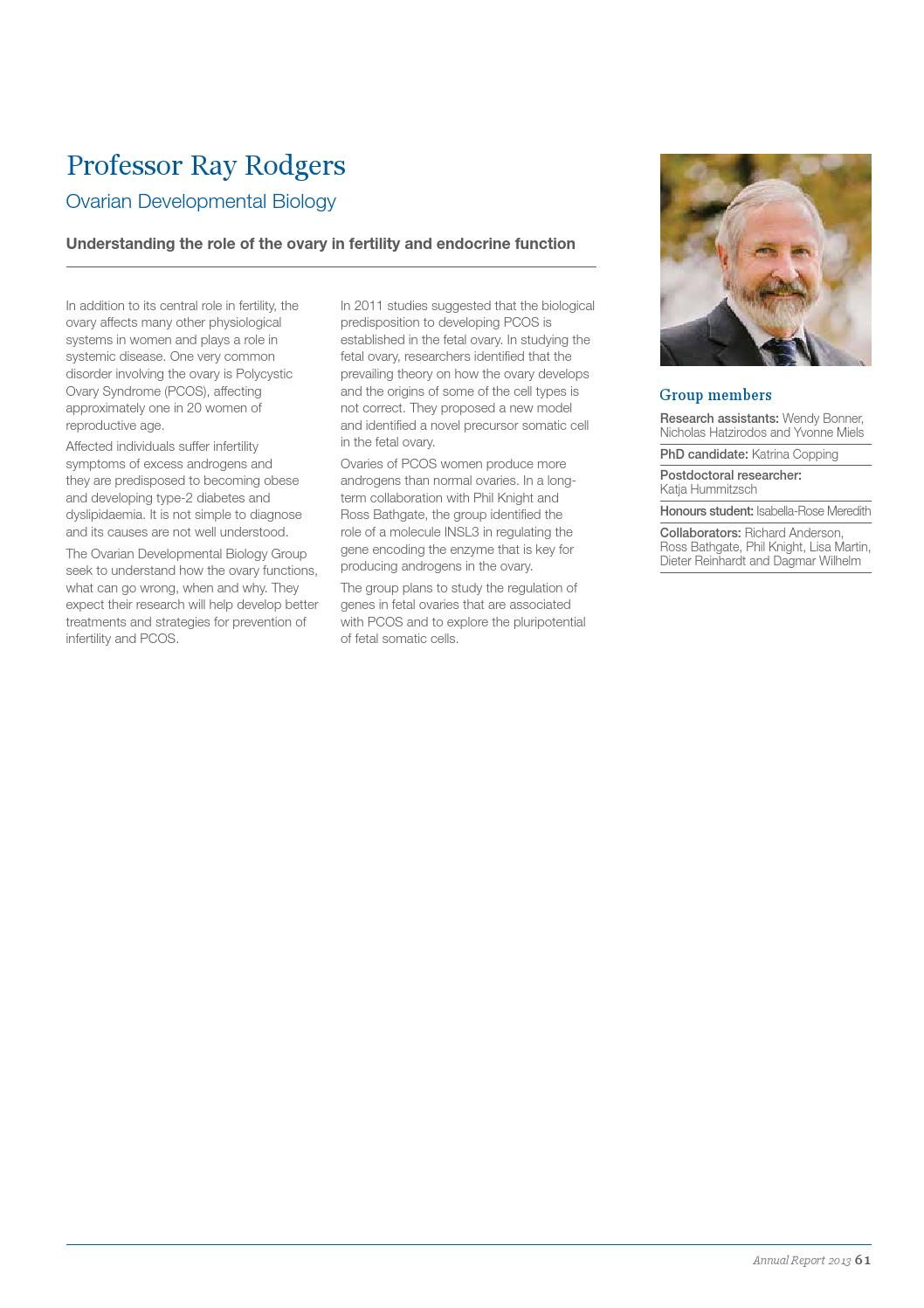 Robinson Research Institute's 2013 Annual Report by The