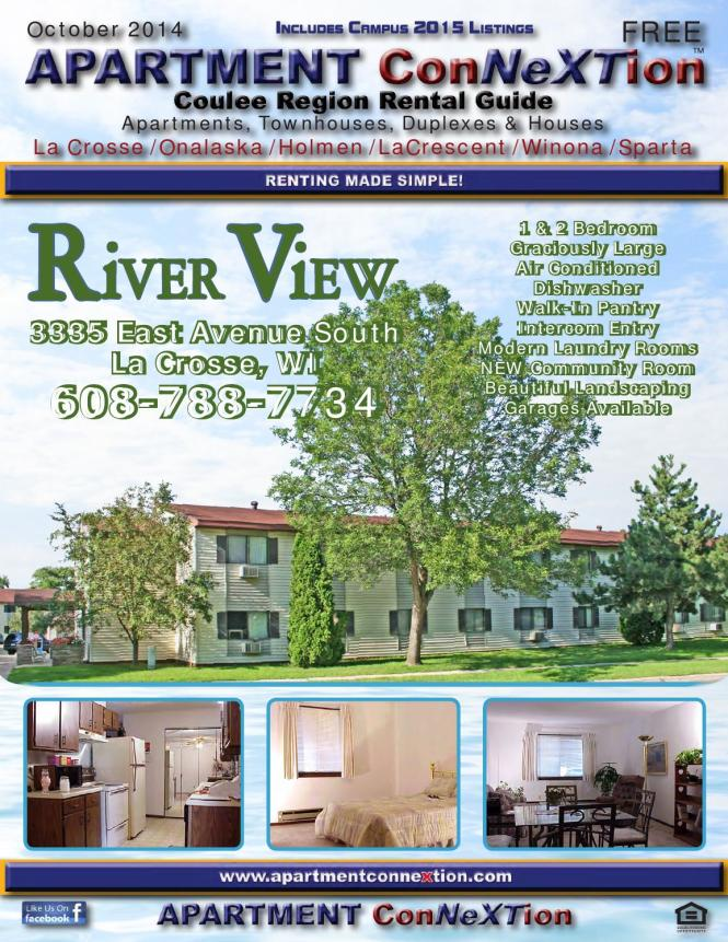 Coulee Region Apartment Connextion Oct