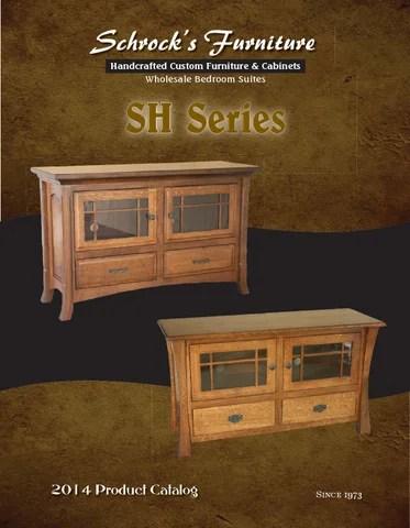 2014 Schrocks Furniture Catalog TV Stands E Amp G Amish