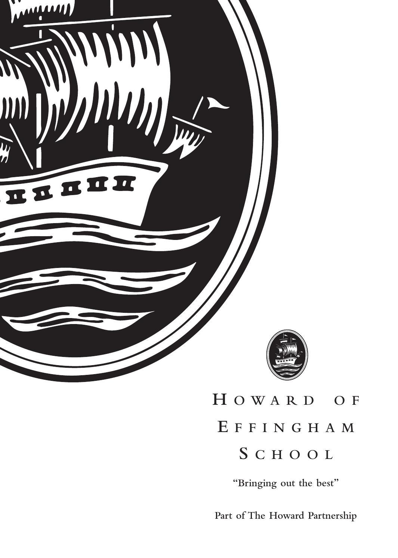Howard of Effingham School Prospectus 2015-16 by Gary