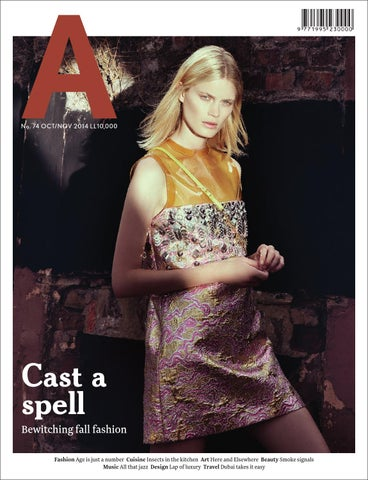 a magazine issue 74