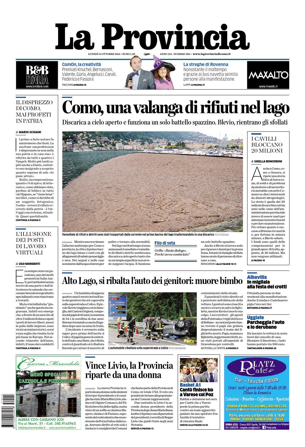 La Provincia By Opq Organizzazione Pubblicità Quotidiani
