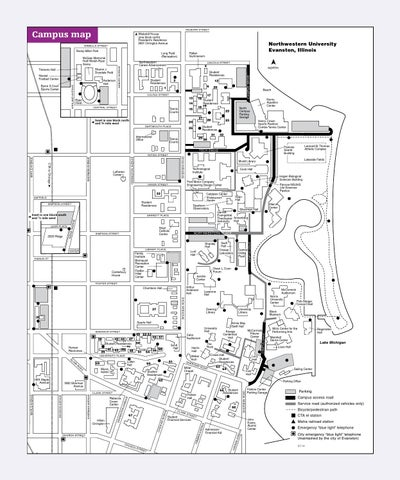 Parent and Family Guide 2014 by Northwestern University