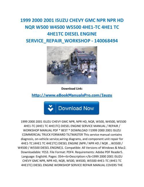 small resolution of 2001 isuzu npr manual isuzu service manual 2001 isuzu npr manual pdf wiring diagrams with a 0 2007 isuzu npr service manual pdf isuzu npr service manual
