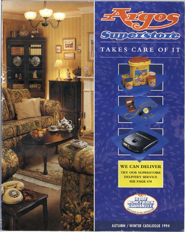 Argos Superstore 1994 Autumn Winter By Retromash Issuu