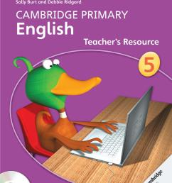 Preview Cambridge Primary English Teacher's Resource Book 5 by Cambridge  University Press Education - issuu [ 1491 x 1073 Pixel ]