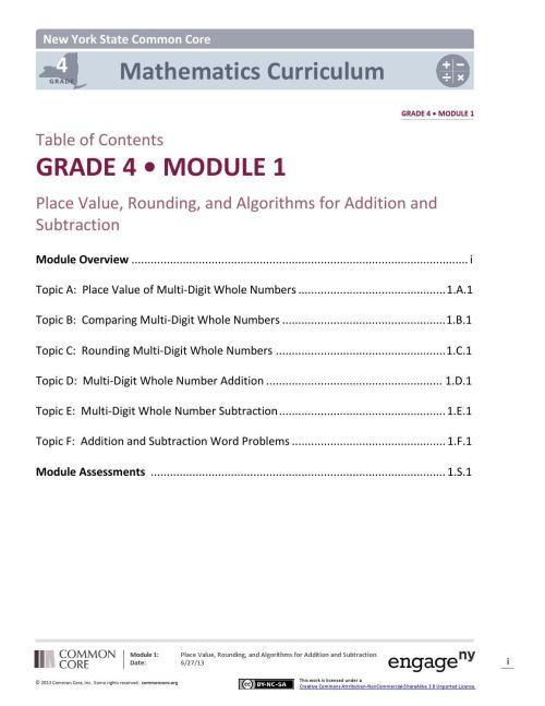 small resolution of Engageny math grade4 module 1 by Jacobson Elementary - issuu