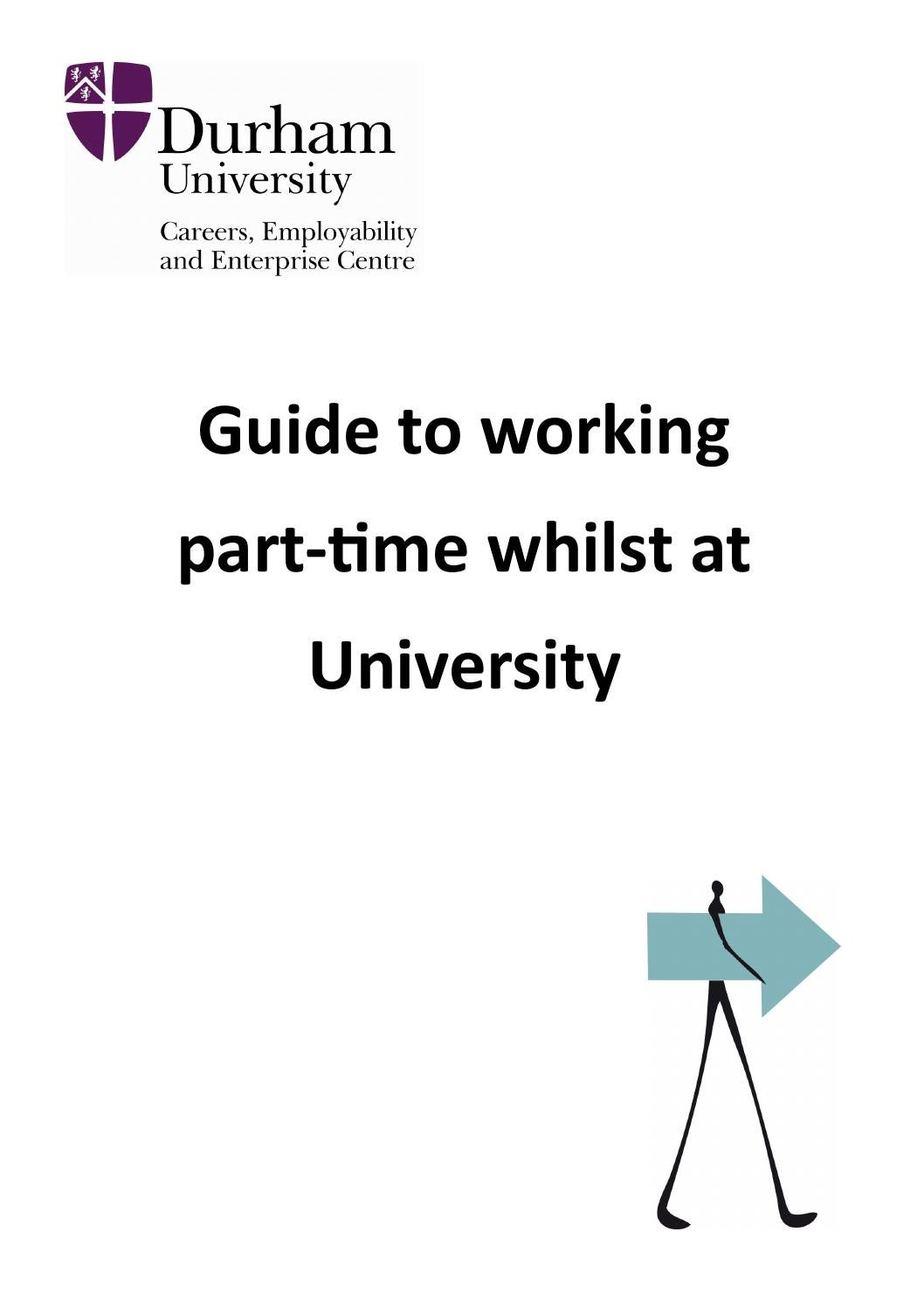 Durham University: guide to working part-time by Durham