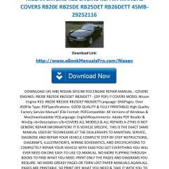 Skyline R33 Gtst Wiring Diagram Solar Panel Circuit Schematic Wrg 0912 Nissan Engine