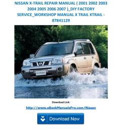 nissan x trail repair manual 2001 2002 2003 2004 2005 2006 2007 diy factory service workshop man by servicemanualsdownloads issuu [ 1156 x 1496 Pixel ]