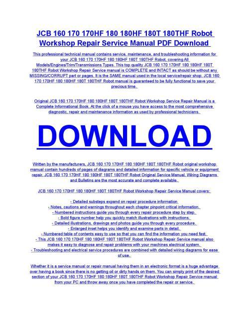Jcb Robot Wiring Diagram - jcb parts pro spare parts catalog ... on
