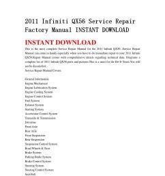 2011 infiniti qx56 service repair factory manual instant download by msjenfh mkfjnsef issuu [ 1058 x 1497 Pixel ]