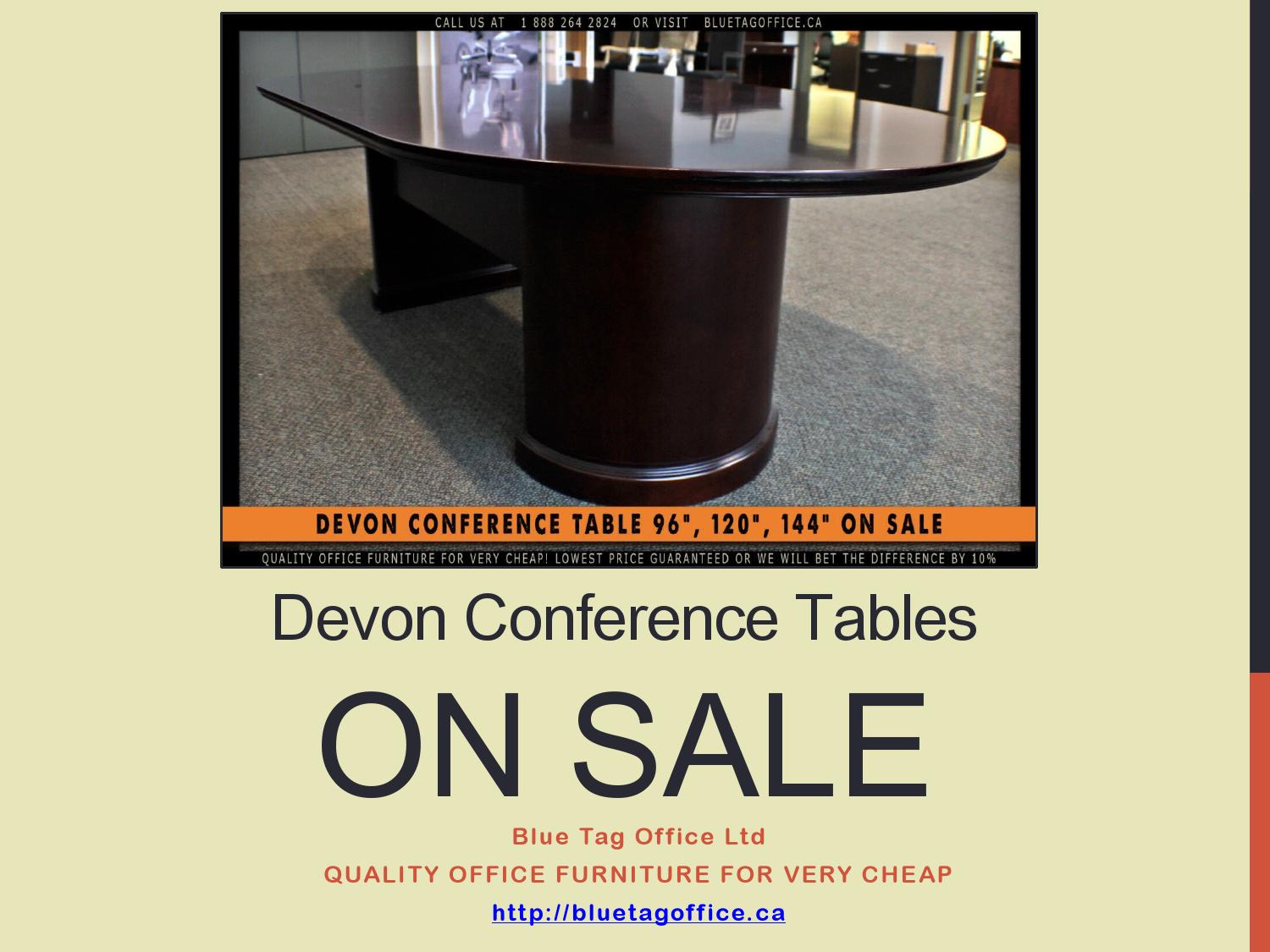 Devon Conference Tables On Sale At Blue Tag Office By Blue Tag Office Ltd Issuu