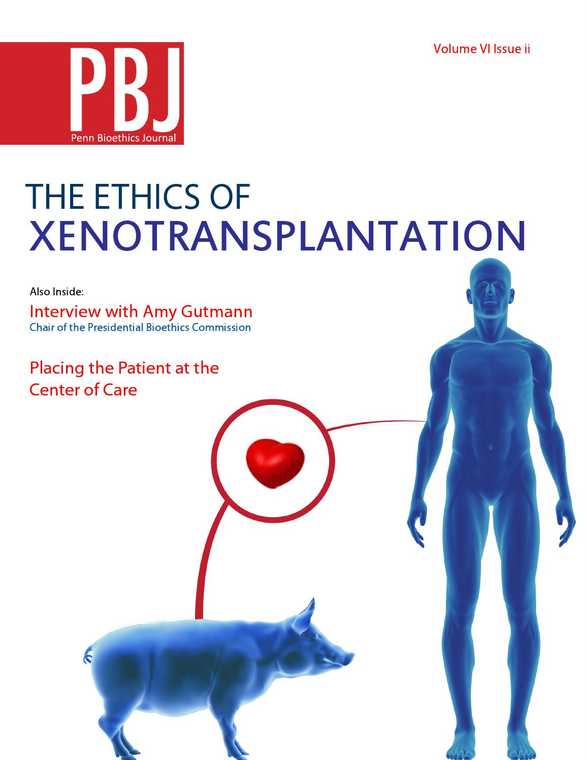 Xenotransplantation term paper