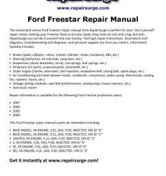 ford freestar repair manual 2004 2007 by macy thomas168 issuu [ 1156 x 1496 Pixel ]