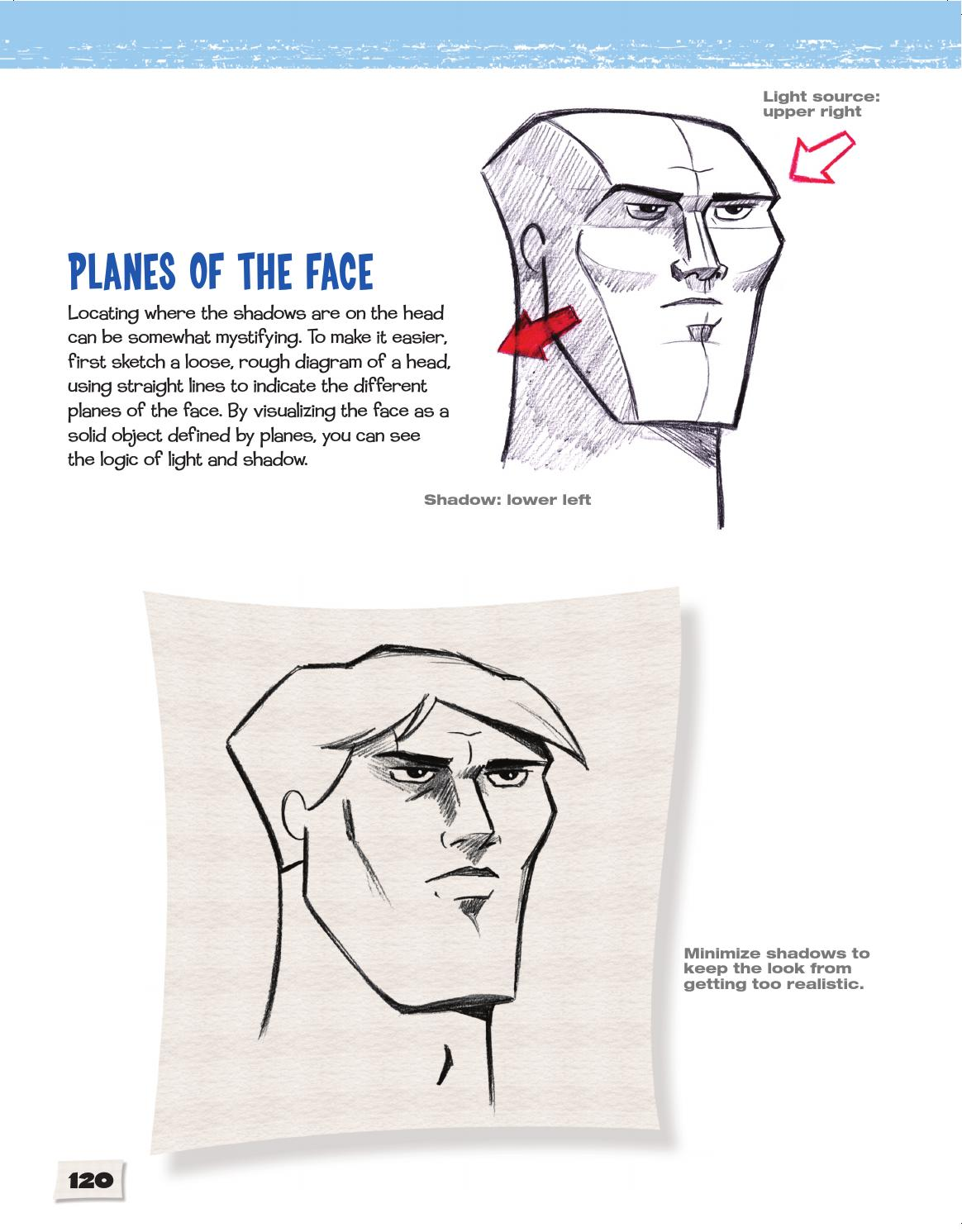hight resolution of cartoon faces how to draw heads features expressions cartoon academy by sixth spring books issuu